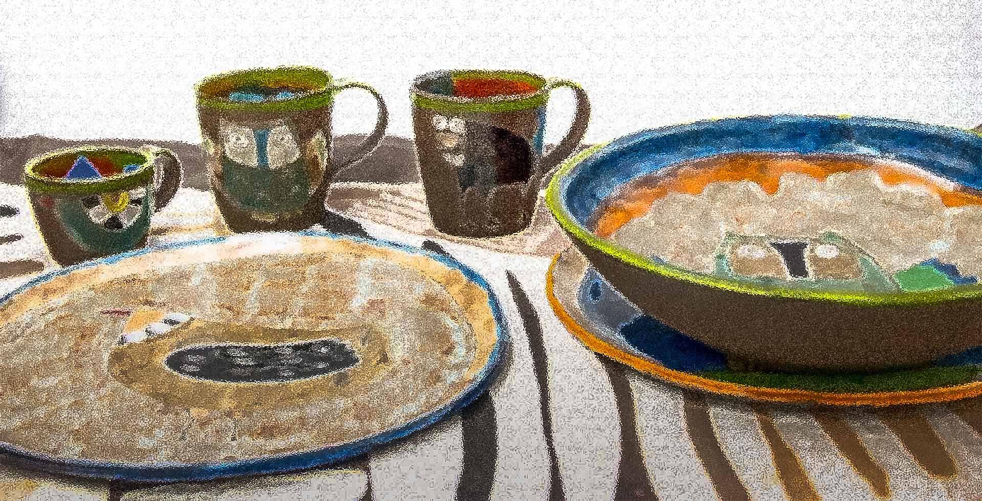 Handmade Polish pottery shop